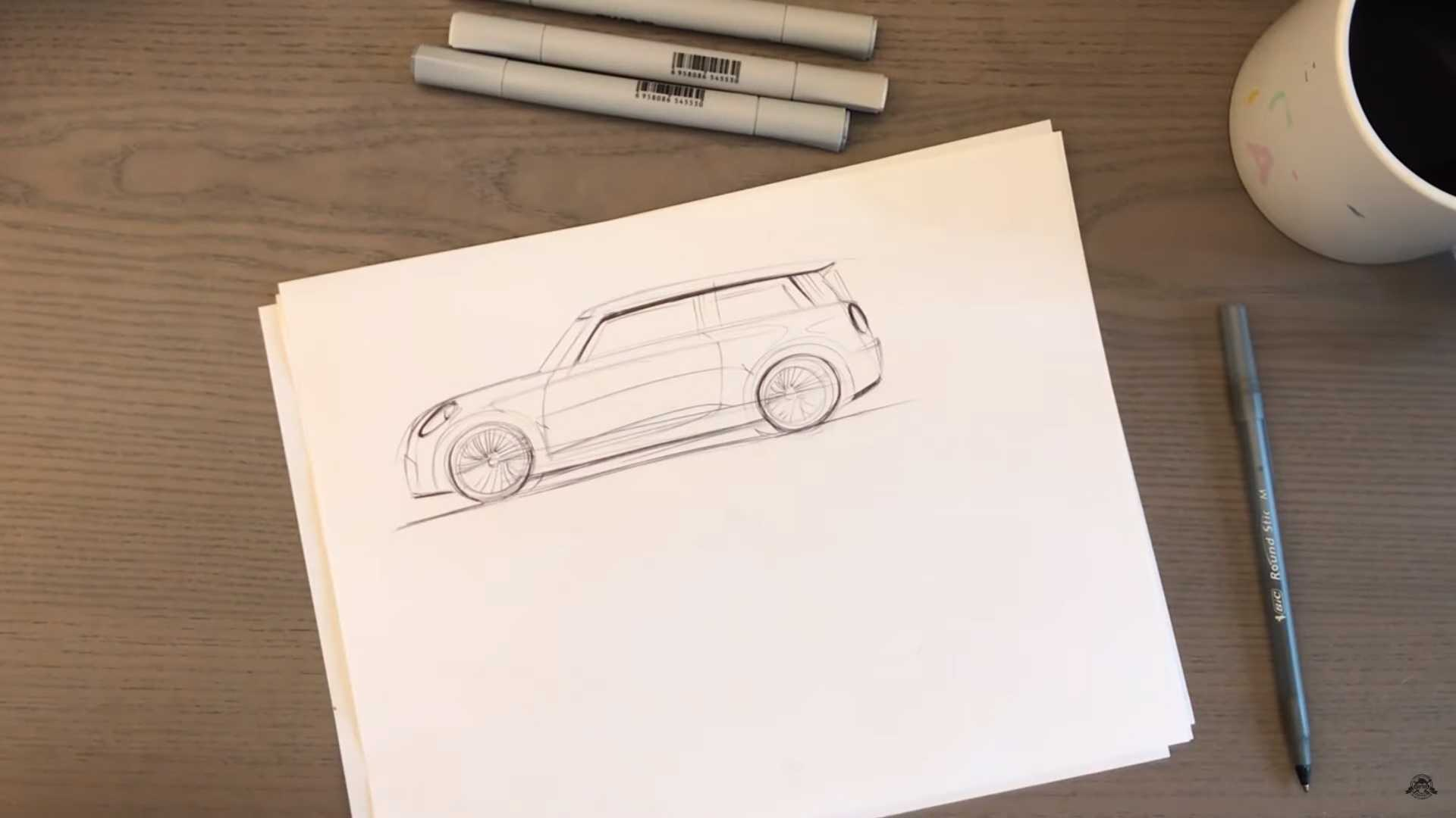 Mini Gets Mid-Engine Supercar Makeover In Amazing Rendering