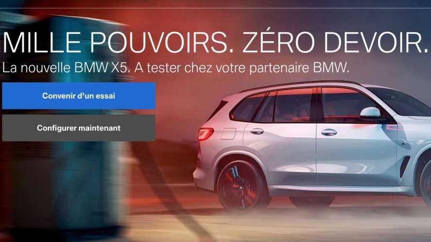 Un slogan de BMW pour le X5 très mal reçu en Suisse