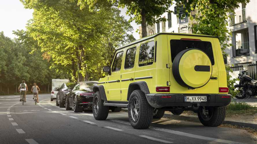 Este Mercedes-Benz Clase G parece el hermano mayor del Suzuki Jimny