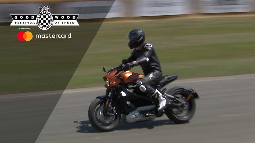 Harley-Davidson LiveWire Debuts At Goodwood: Video