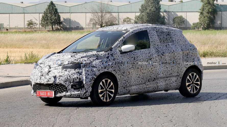 Renault ZOE 2020, nuevas fotos espía