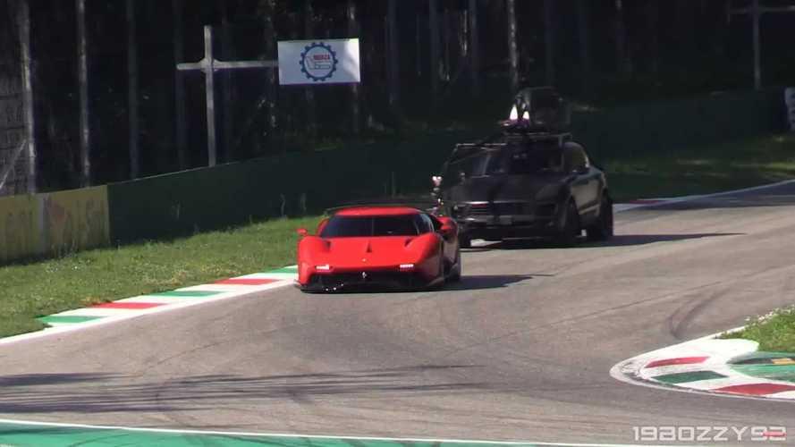 Ferrari P80/C a Monza