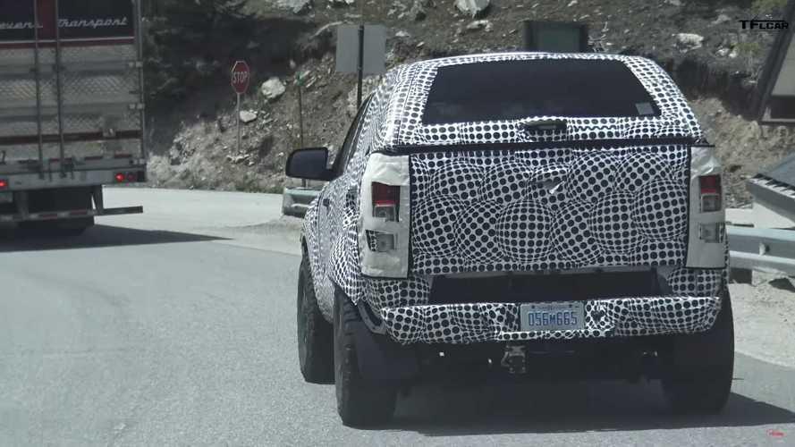 Ford Bronco Test Mule Spy Screenshots