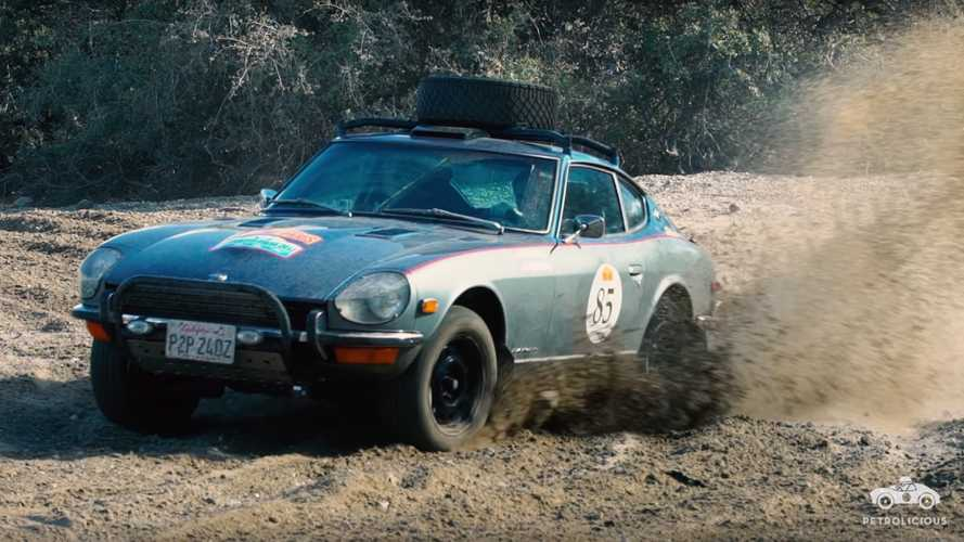 This Restored Nissan 240Z Completed the Peaking To Paris Rally
