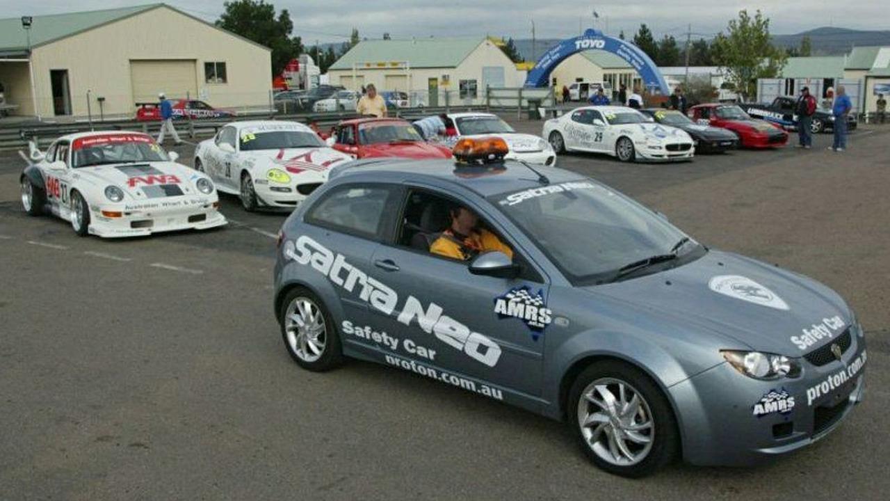 Proton Satria Neo Safety Car