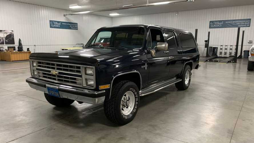 1986 Chevrolet Suburban Is California Clean