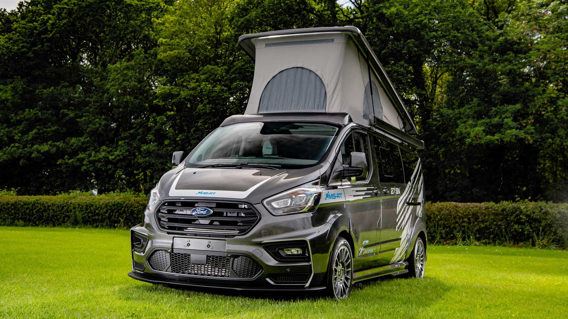 Ford fan pumps £77k into Transit Custom to create sporty