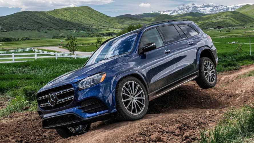 The 2020 Mercedes-Benz GLS Is Surprisingly Good Off Road