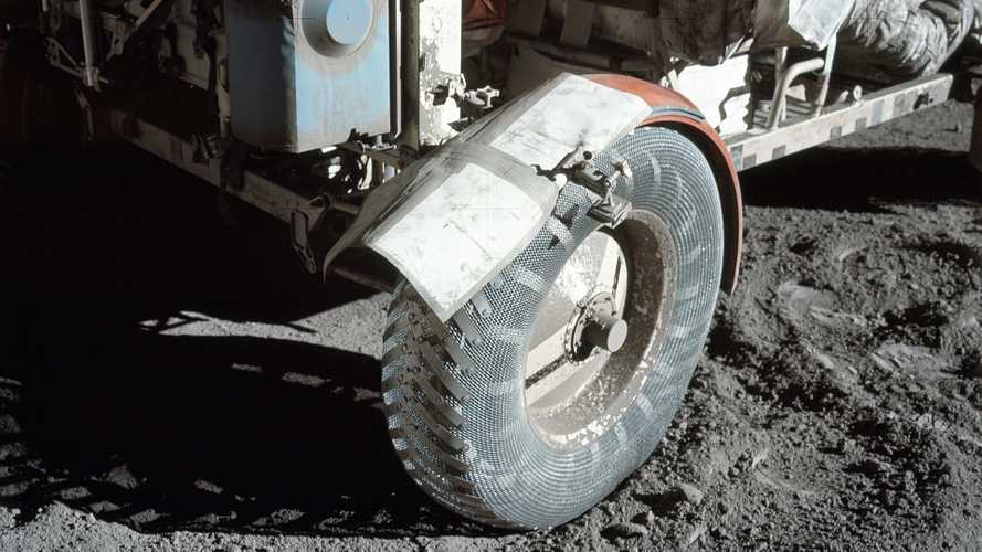 Lunar Roving Vehicle, the one and only car on the Moon