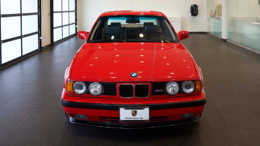 Low-Mile 1991 BMW E34 M5 Is A Stellar Sedan