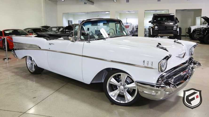 1957 Chevrolet Bel Air Convertible With A Modern Twist