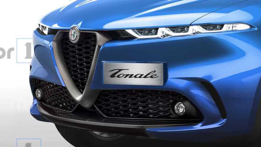 Render Alfa Romeo Tonale 2020
