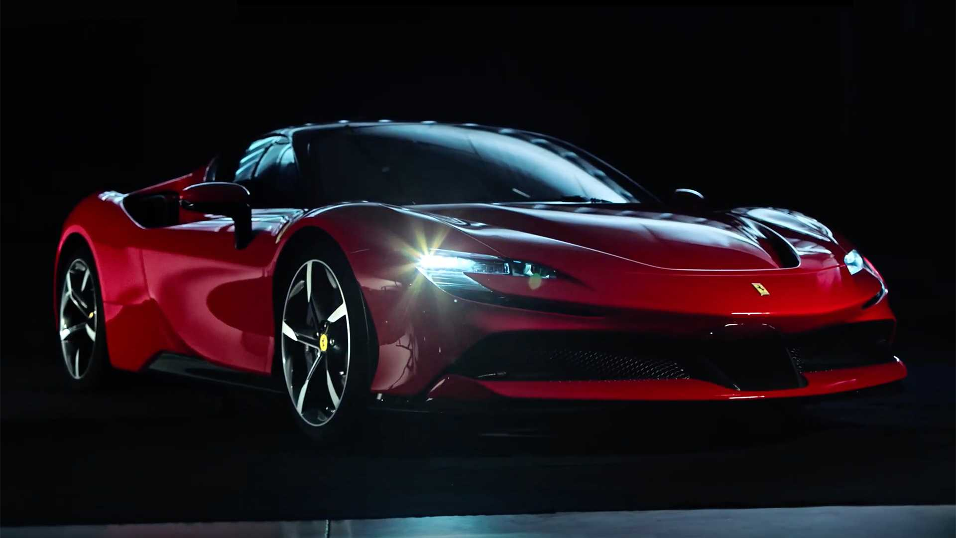 Ferrari Sf90 Stradale Powertrain Detailed In Official Video