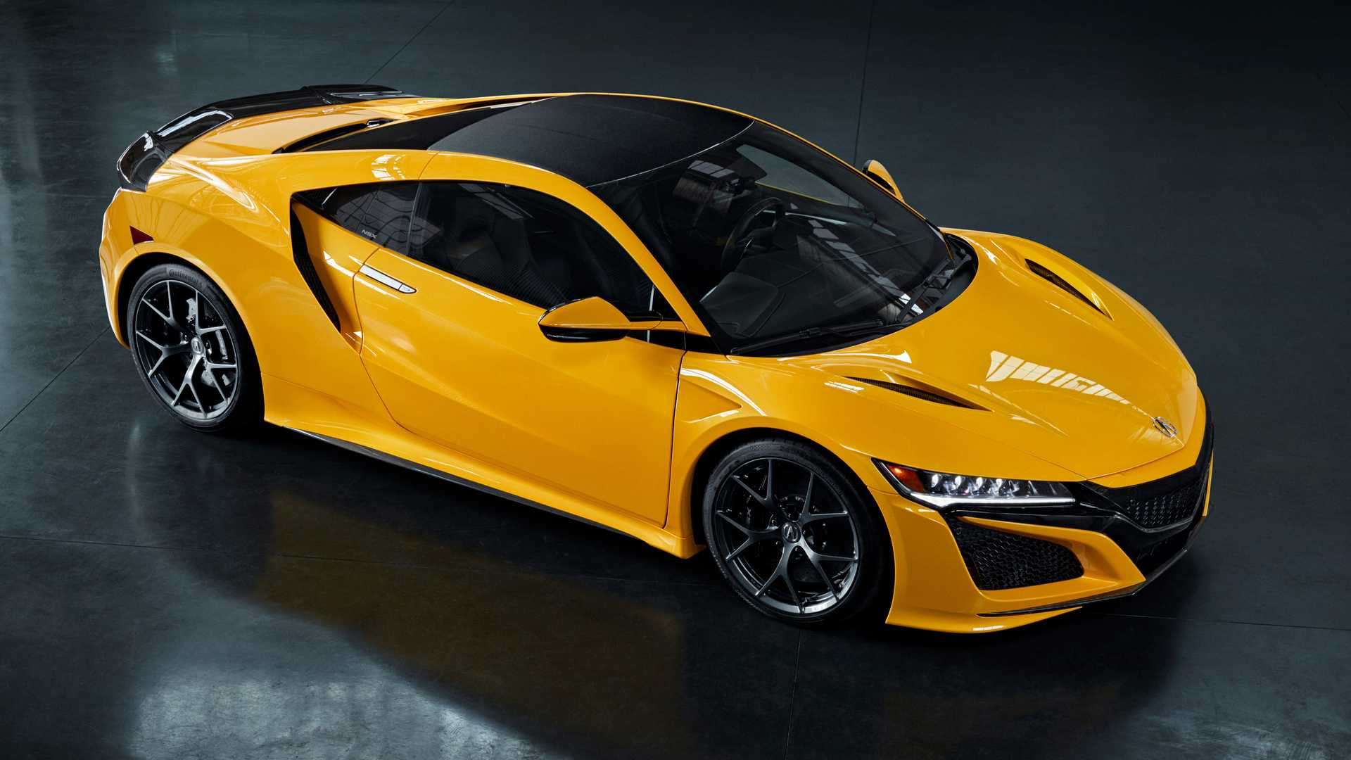 2020 Acura Nsx Indy Yellow Pearl Pays Homage To Nsx Spa Yellow
