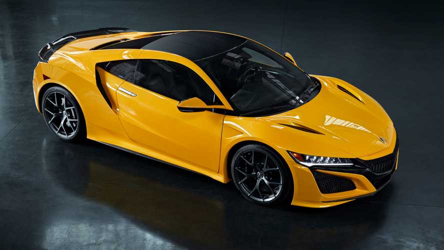 El Acura NSX 2020 Indy Yellow Pearl rinde homenaje al NSX Spa Yellow