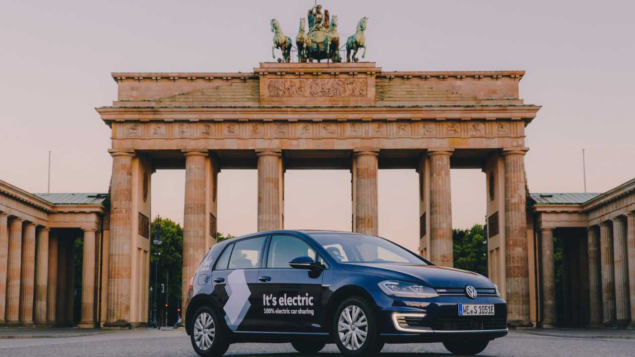 Volkswagen, car sharing elettrico a Berlino