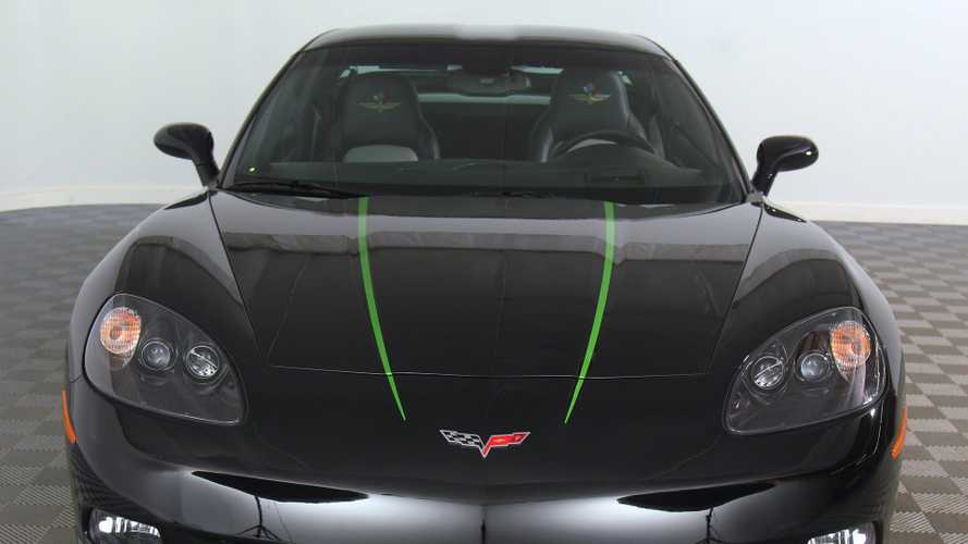Own A Piece Of Motorsports History With This 2008 Corvette Pace Car