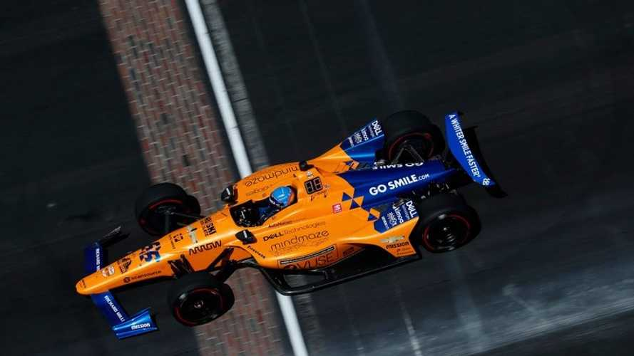 Alonso no consigue clasificarse para la Indy 500