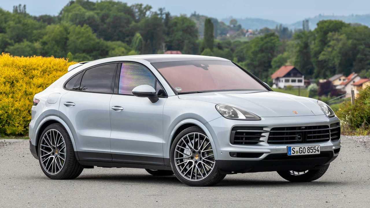 Porsche Cayenne Coupe Lead
