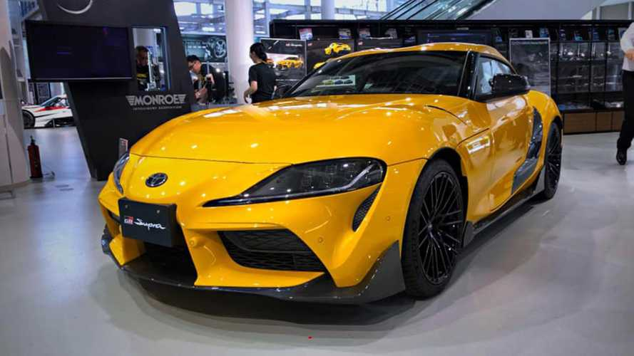 2020 Toyota Supra TRD Parts