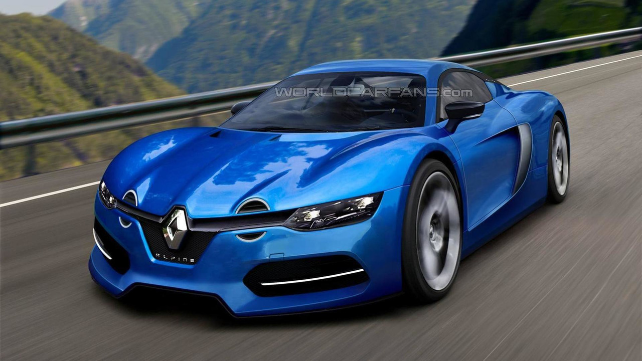 2016 Renault Alpine production model render