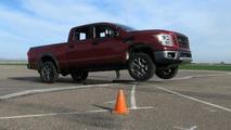 2016 Nissan Titan development / testing photo