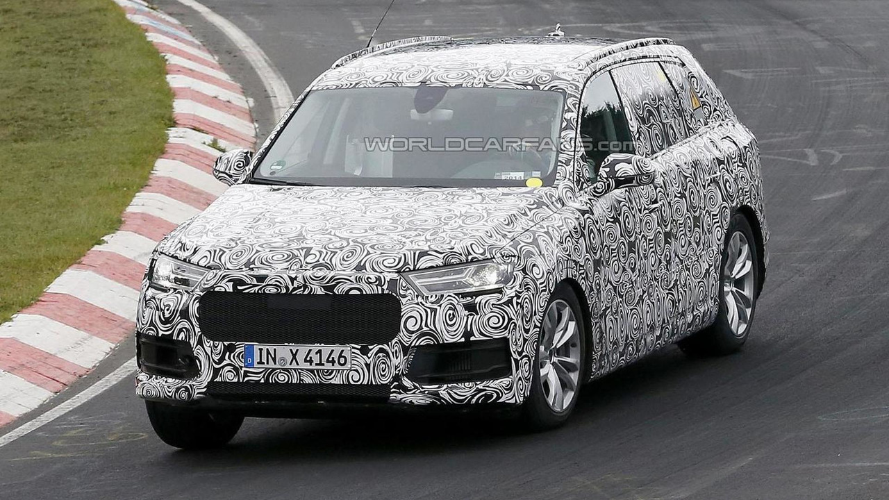 2016 Audi Q7 Plug-in Hybrid spy photo