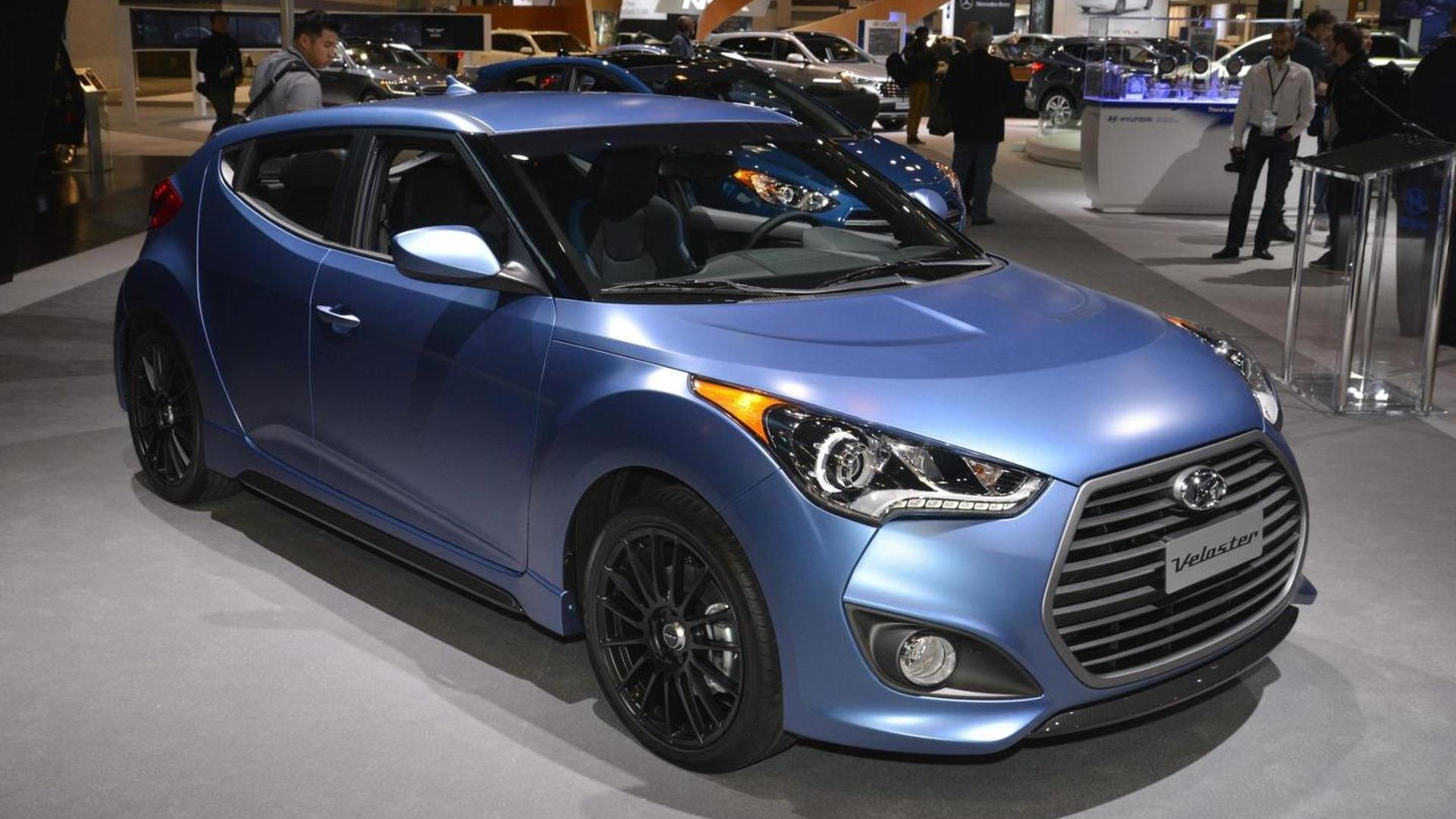 Hyundai Veloster Rally >> 2016 Hyundai Veloster Rally Edition Bows In The Windy City