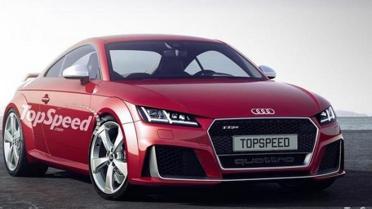 2017 Audi TT RS render