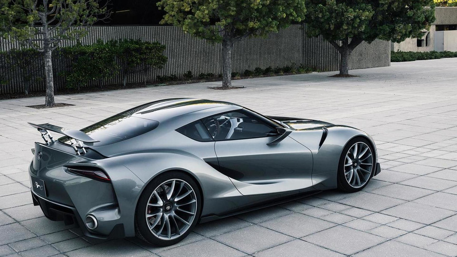 Toyota Ft 1 Concept With Graphite Paint