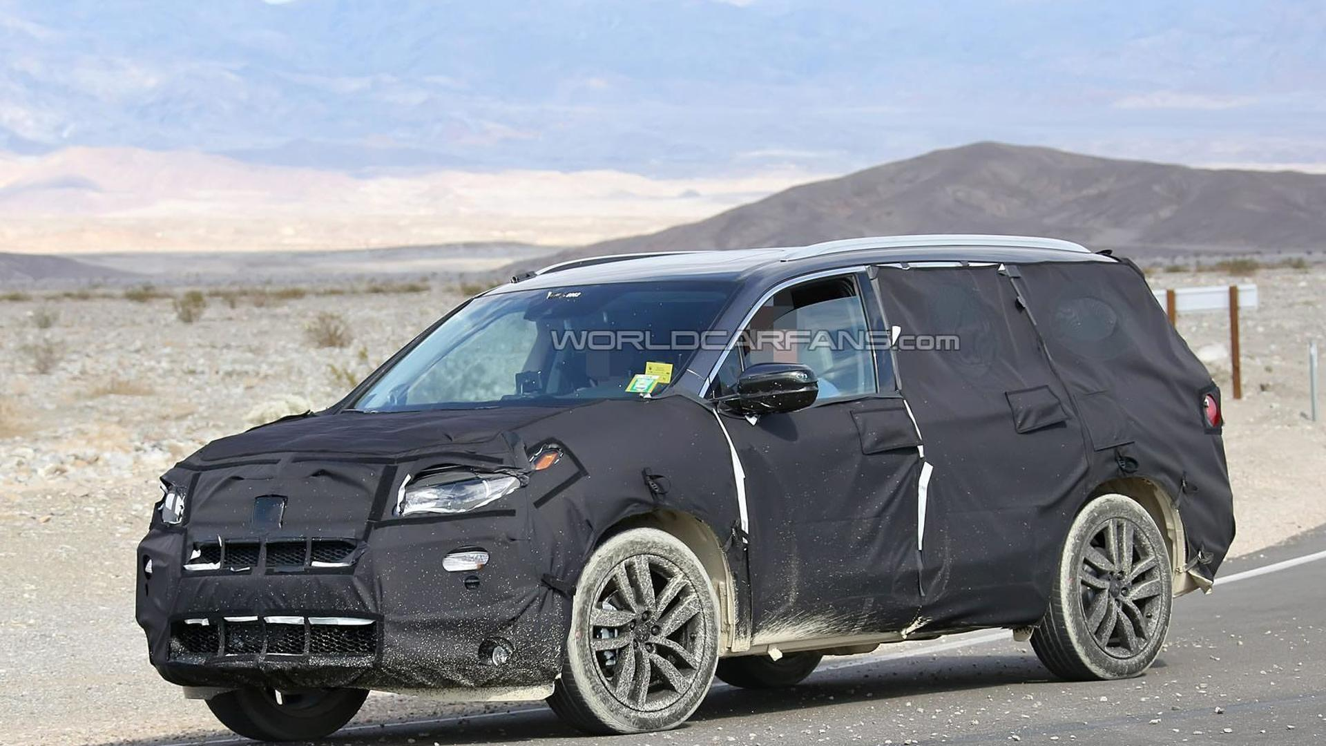 2020 Honda Pilot Spy New Model and Performance