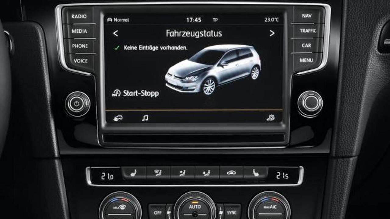 volkswagen golf vii radio navigation system discover pro. Black Bedroom Furniture Sets. Home Design Ideas