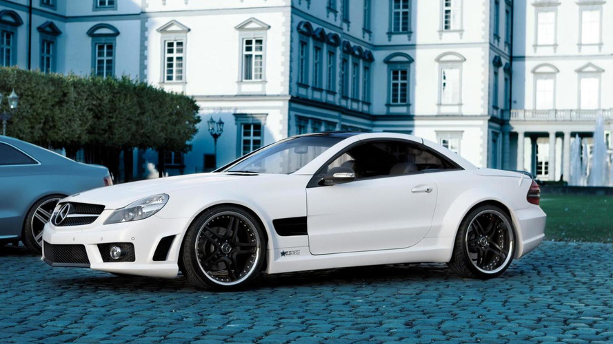 Mercedes-Benz SL500 customized by Famous Parts