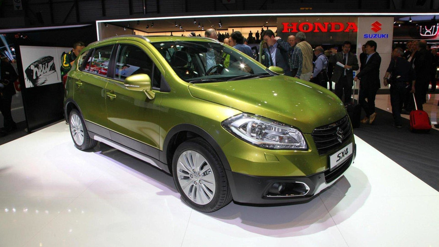 2013 Suzuki SX4 makes Geneva debut