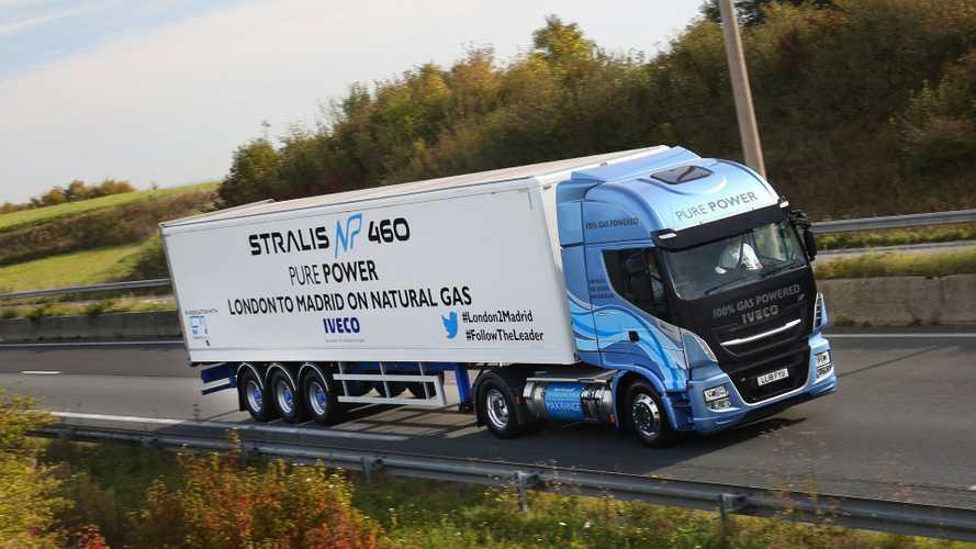 Iveco Stralis record a metano