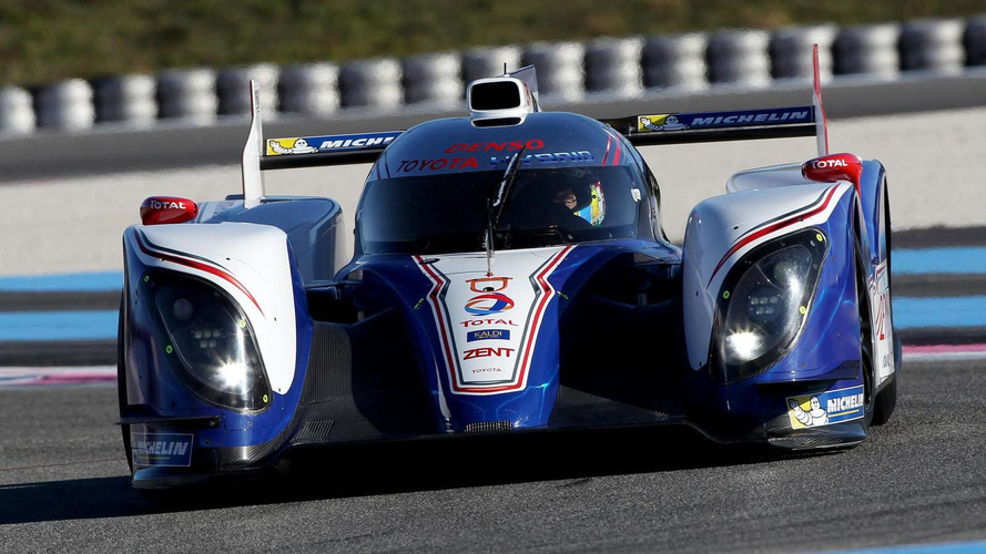 2013 Toyota TS030 Hybrid World Endurance Championship race car revealed