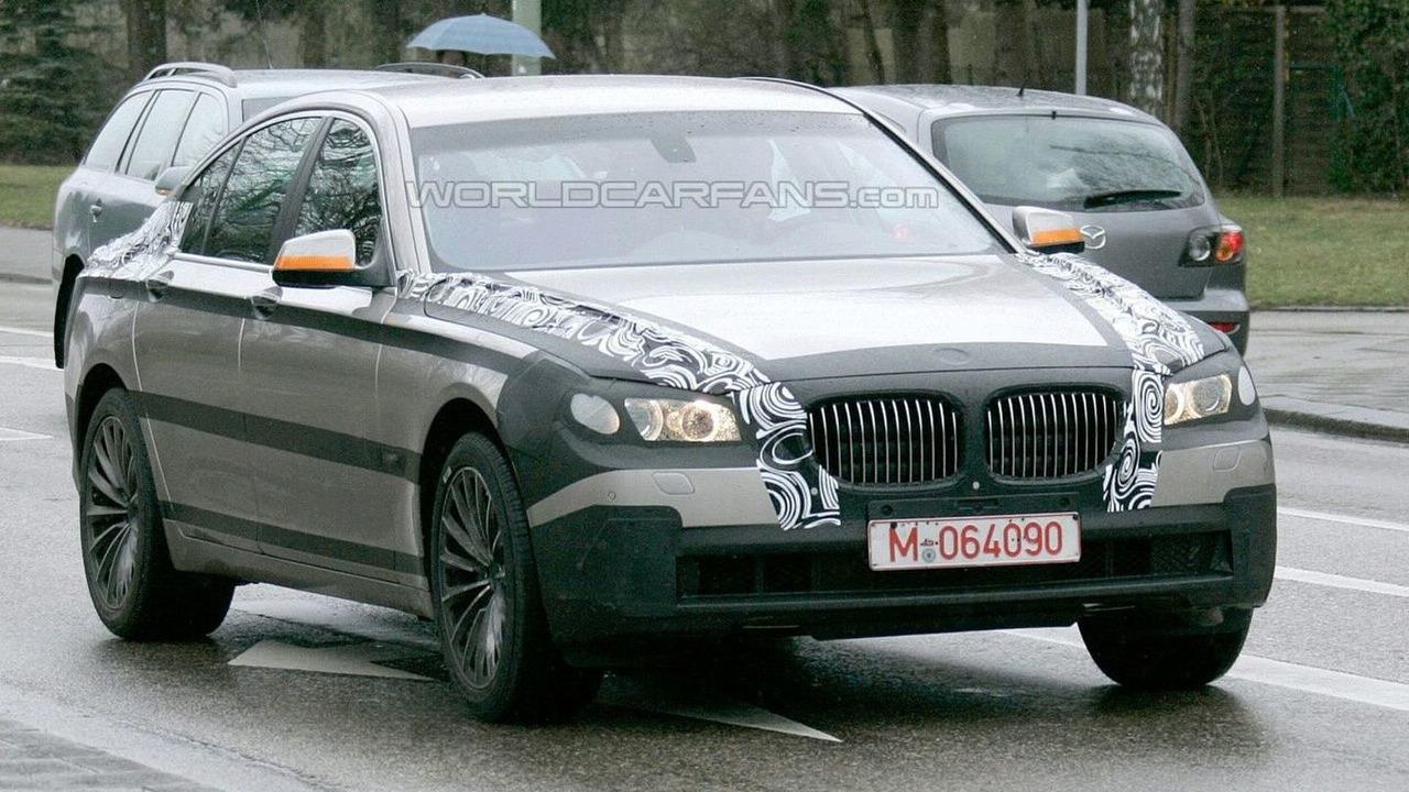 New BMW 7 Series Spy Photo