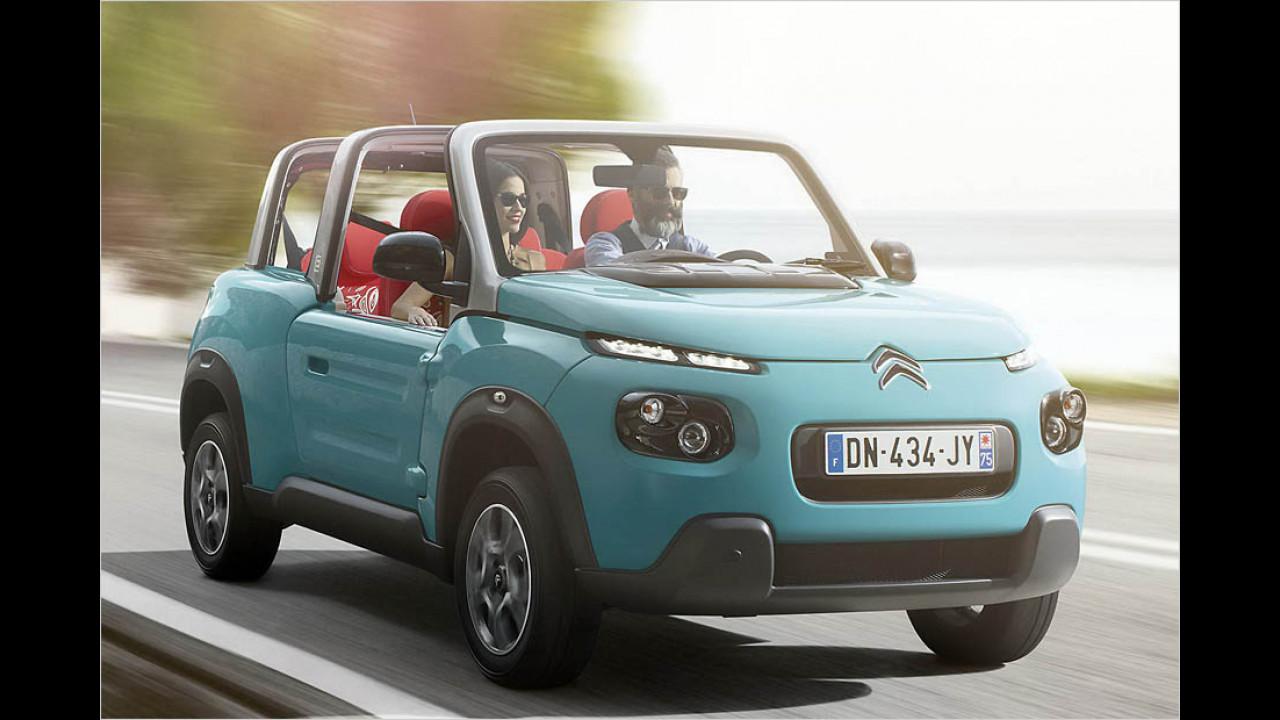 Citroën E-Méhari: 195 km