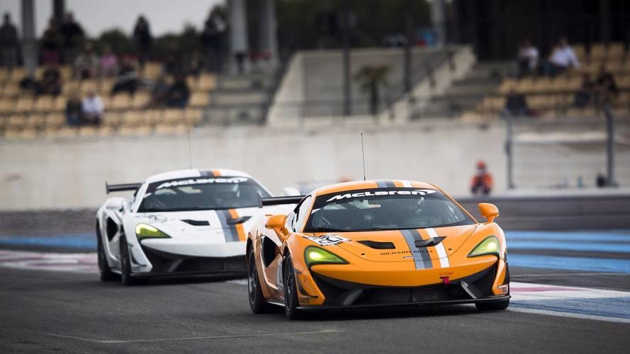 "McLaren présente la ""Pure McLaren GT4 Club Race"""