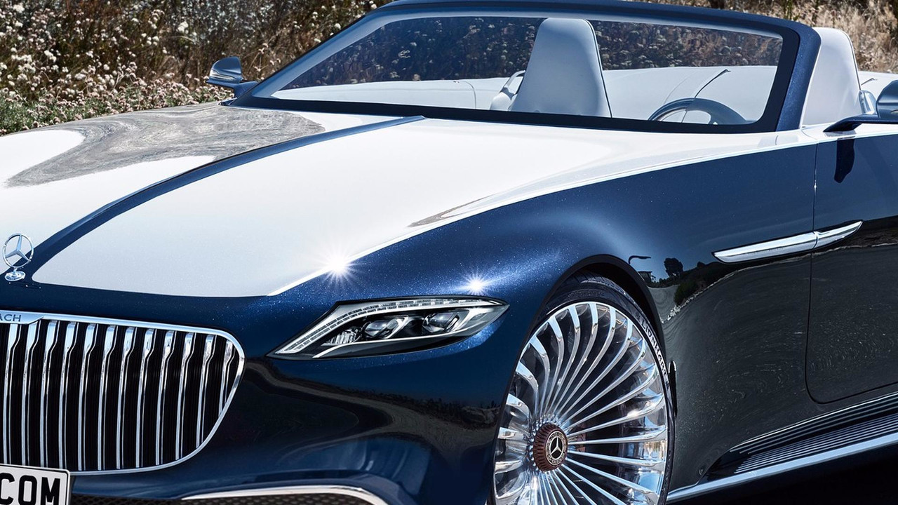 Mercedes Maybach 6 Cabriolet Looks Stunning With Production Cues