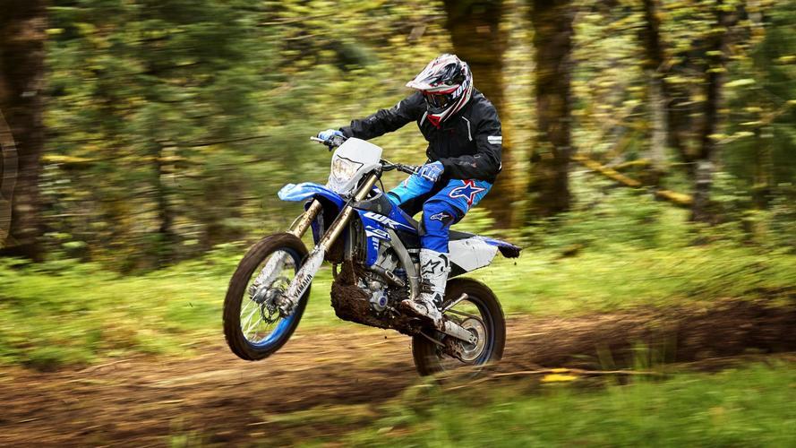 Yamaha lanza sus nuevas motos de enduro WR250F y WR450F 2018
