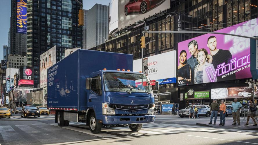Fuso eCanter néven érkezik a Daimler teljesen elektromos teherautója