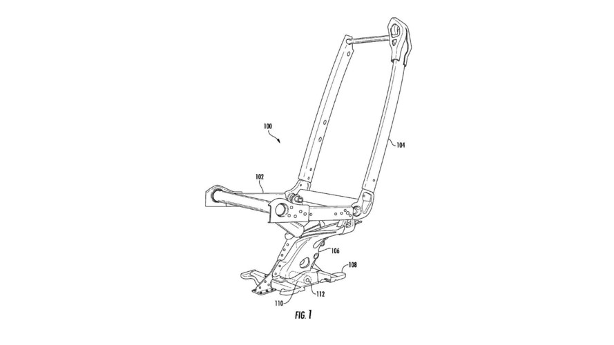 Tesla Monopost Seat Patent Application