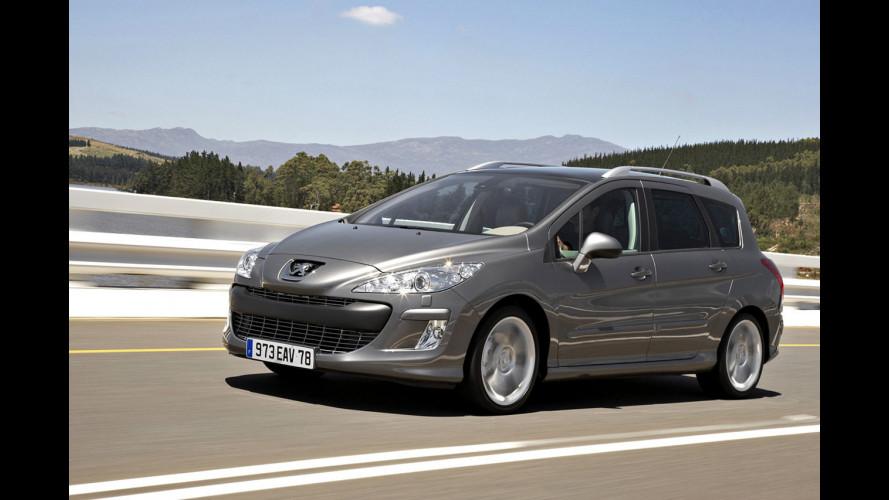 Peugeot taglia i prezzi di listino della 308