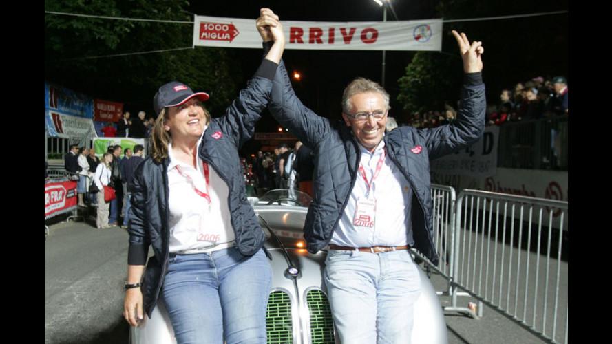 Mille Miglia 2006: vince Giuliano Canè