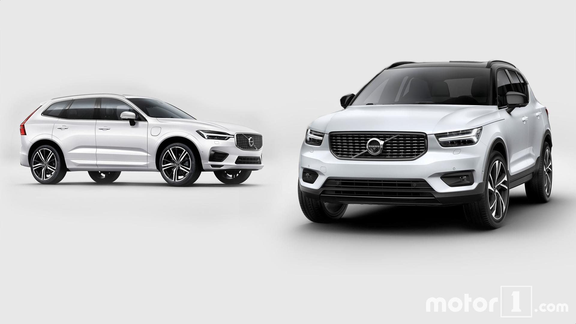 ניס Volvo XC40 vs. XC60: How The New, Little Swede Stacks Up YV-61