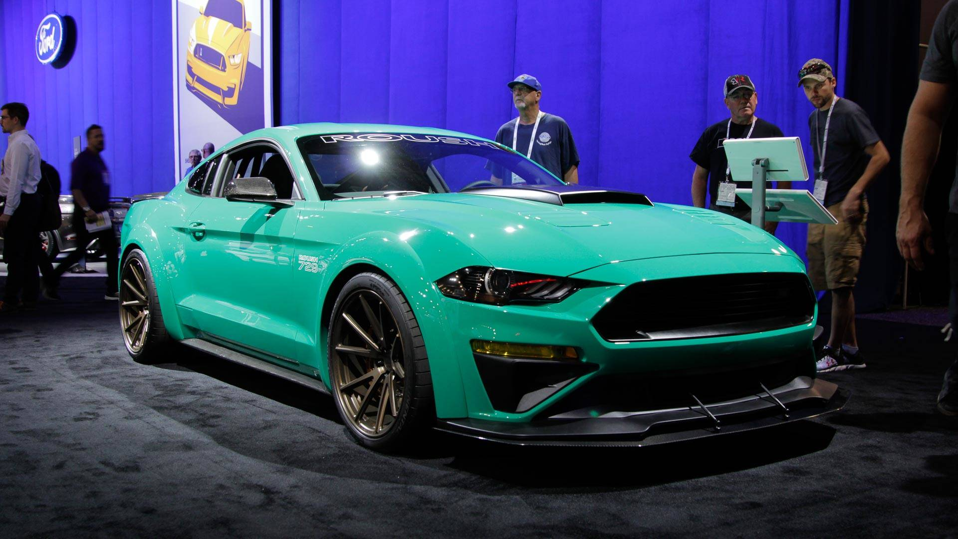2018 roush 729 pays homage to the 70 boss 429