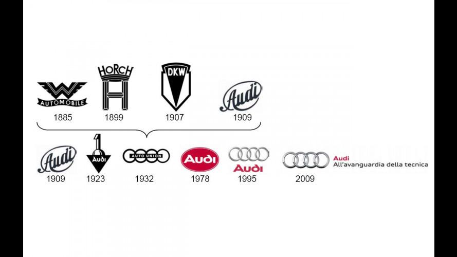 Audi ridisegna i Quattro Anelli