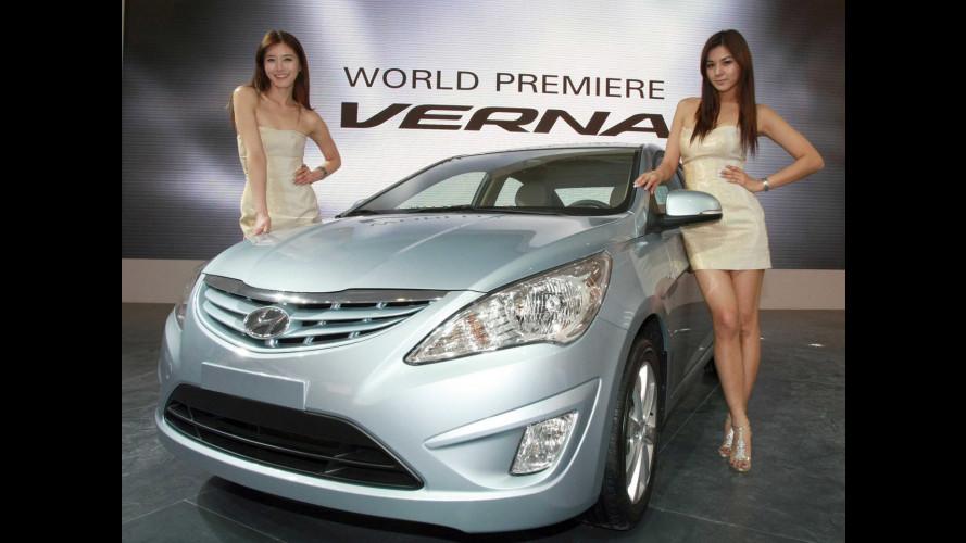 Hyundai Verna a Pechino 2010