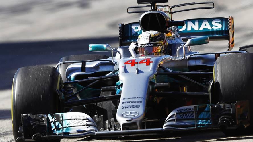 A.B.D.'de galip Hamilton, takımlar şampiyonu Mercedes